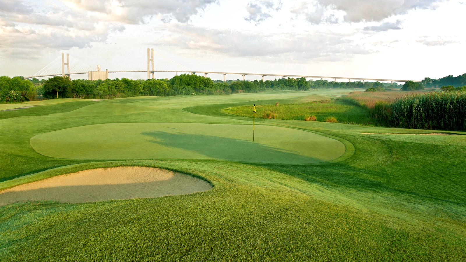 Savannah Golf Courses - The Club at Savannah Harbor