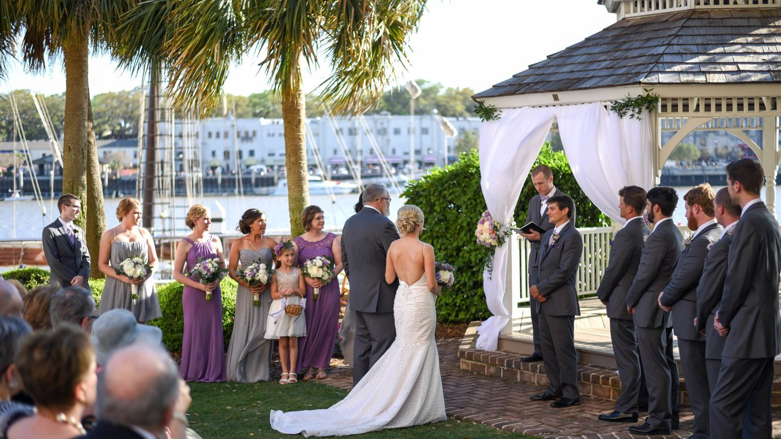 Outdoor Wedding Ceremony | The Westin Savannah Harbor Golf Resort & Spa